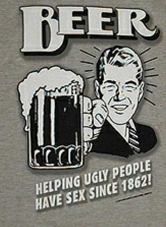 Beer: helping people have sex since 1862
